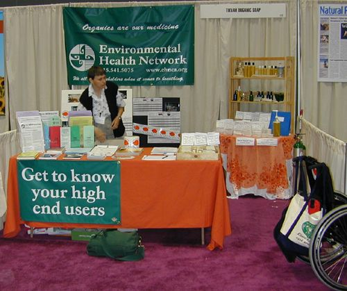 Tikvah and EHN Booth